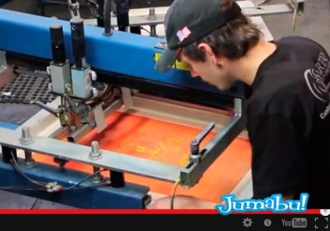 Video Sobre Impresión en Serigrafía | Jumabu! Design Tools - Vectorizados - Iconos - Vectores - Texturas
